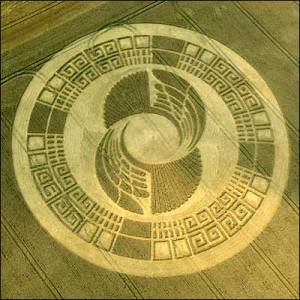 Infinity, Cirles, Square Coils, feather shaps -Modern Day Crop Circle